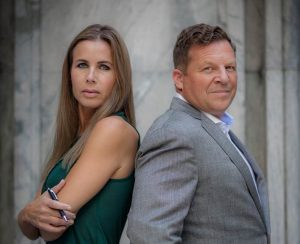 Jenny Hedelin och Christen Ager-Hanssen